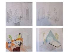 Kantoor en logeerkamer