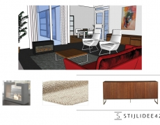 restyling woonkamer/aanbouw