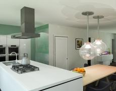 3D ontwerp voor nieuwbouwwoningen